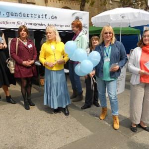 Gendertreff beim CSD Dortmund 2014